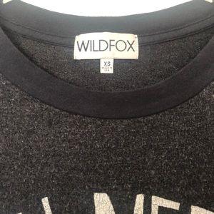 Wildfox Tops - Wildfox All You Need is Love Roadtrip Sweatshirt